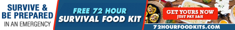Free 72 Hour Food Kit